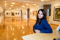 Elizabeth Vranka Director of OSilas Gallery for The Bronxville Bulletin