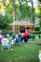 Summer concert at The Pelham gazebo