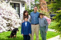 Paula Wood, Sam, Milo & Josh Wallach Springtime Family Photos