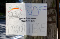 Hearts and Homes for Refugees Pelham NY to Syria NuDay Syria Donation Drive