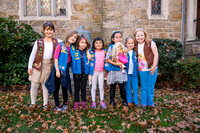 Pelham NY Girl Scouts Thank A Vet Gold Award Project for The Pelham Post Veteran's Day 2016