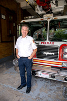 Pelham NY Fire Chief Jim DiNapoli at The Pelham Fire house