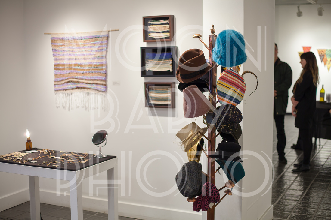 Hats by Susan Saas at the Opening of Craft Marketplace at The Pelham Art Center for The Pelham Post