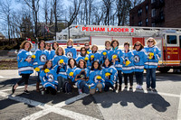 PMHS Pelicans Varsity Ice Hockey NYS Champions Parade for The Pelham Post