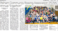 PCRA Ergathon in March 15th 2017 Issue of The Pelham Post