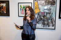 Elizabeth Vranka, Executive Director of OSilas Gallery in Bronxville NY