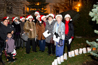Junior League of Pelham NY Light Up Pelham Fundraiser by Moon Baby Photo for The Pelham Post