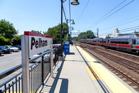 Pelham Westchester NY Metro North Moon Baby Photo