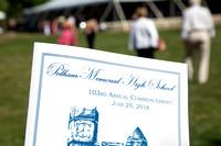 2016 Pelham Memorial High School Graduation for The Pelham Post