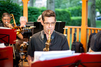 Westchester Swing Band performs Summer concert at the Pelham gazebo