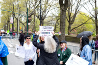March for Science New York City Earth Day April 22 2017 Moon Baby Photo