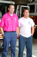 Lt. Robert Benkwitt III and FF Mike Leak at the Pelham FD